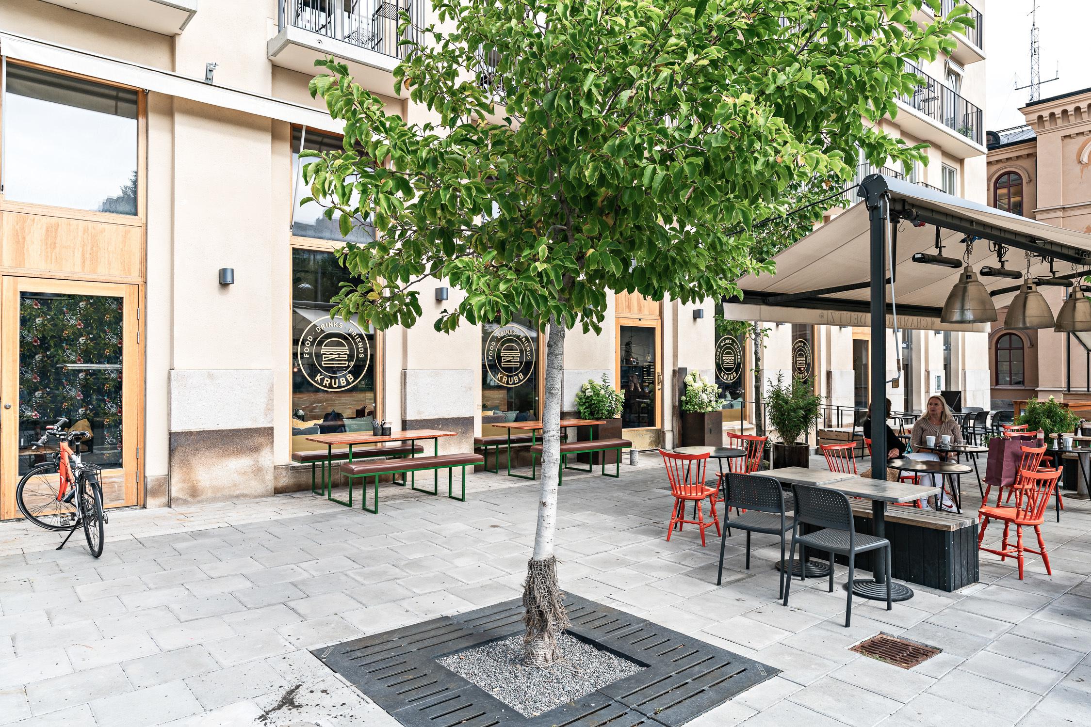 Restaurang Krubb i området