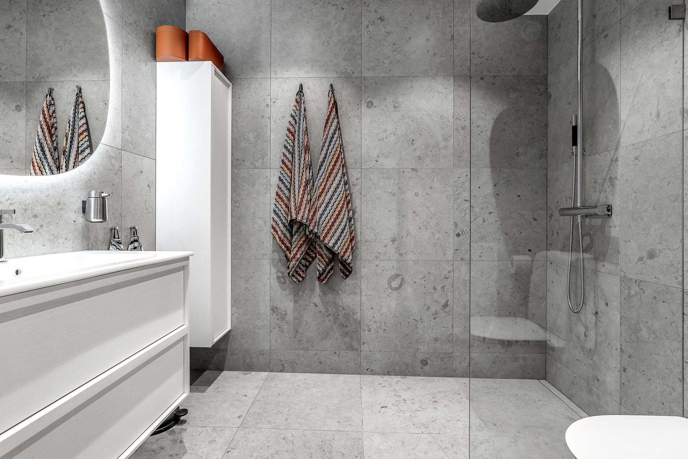 Exklusivt badrum